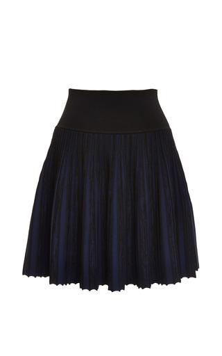 Vert stripe skirt in eclipse blue by OPENING CEREMONY Preorder Now on Moda Operandi