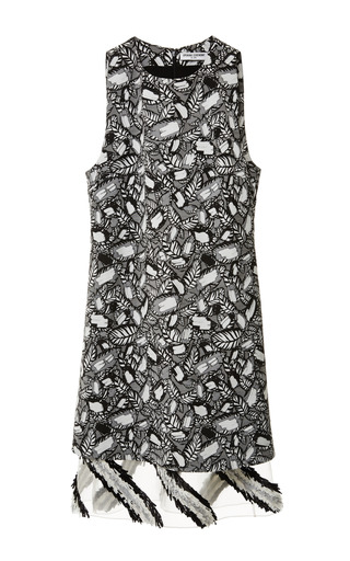 Opening Ceremony - Layered Frond Double Layer Dress