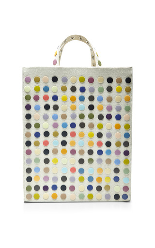 Tote bag with multicolored snap embroidery by ROSIE ASSOULIN Preorder Now on Moda Operandi