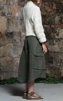 Shearling Stitch Cashmere Wool Silk Knit Sweater by Rosie Assoulin for Preorder on Moda Operandi