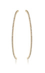 Cara Long Curved Line Earring by Paige Novick for Preorder on Moda Operandi