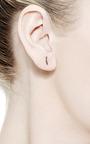 Arc En Ciel Triangle Single Ear Stud by Paige Novick for Preorder on Moda Operandi