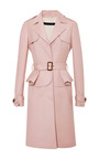 Elie Saab - Blush Single Breasted Trench Coat