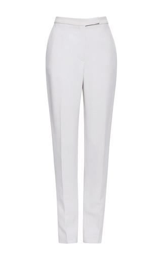 Jasmine stretch cady slim pants by ELIE SAAB for Preorder on Moda Operandi
