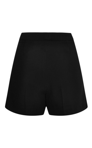 Elie Saab - Black Lace Insert Shorts