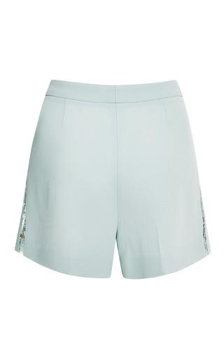 Elie Saab - Mint Lace Shorts