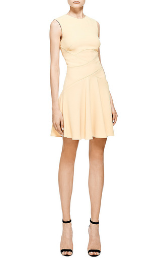 Elie Saab Iris Crepe Cady Crisscross Dress by Elie Saab for Preorder on Moda Operandi