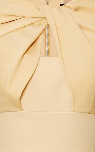 Elie Saab Iris Crepe Cady Knot Dress by Elie Saab for Preorder on Moda Operandi
