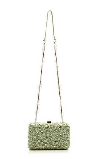 Elie Saab - Mint Small Embroidery Clutch