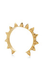 Rocker 18K Gold-Plated Medium Cuff by Monica Sordo Now Available on Moda Operandi