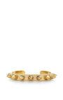 Rocker 18K Gold-Plated Medium Cuff by Monica Sordo Now Available on Moda Operandi