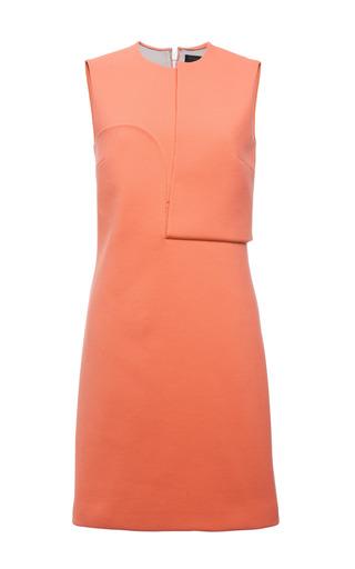 Carmine double faced compact nylon sleeveless dress by CALVIN KLEIN COLLECTION for Preorder on Moda Operandi