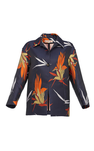 Birds of paradise print jacket by MARNI Preorder Now on Moda Operandi