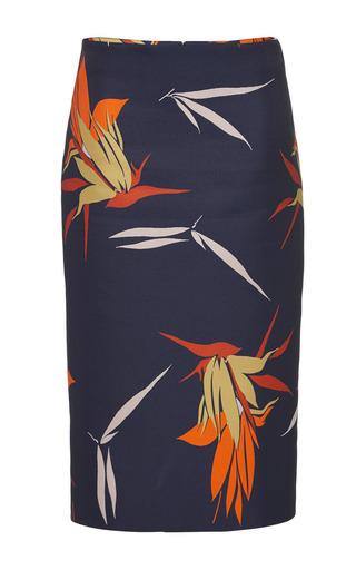 Bird of paradise print pencil skirt by MARNI Preorder Now on Moda Operandi