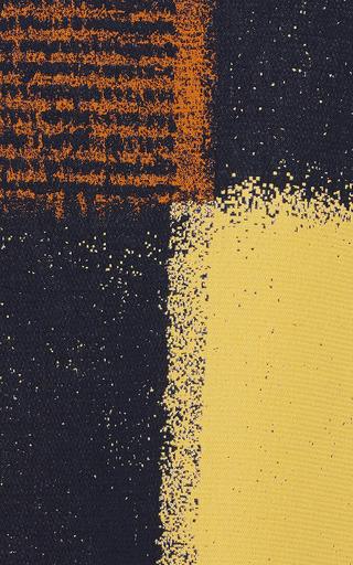 Marni - Yellow Chalk Squares Mini Skirt
