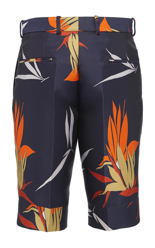 Birds Of Paradise Print Bermuda Shorts by Marni for Preorder on Moda Operandi