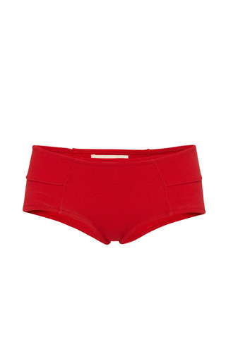 Red knit panty by MARNI Preorder Now on Moda Operandi