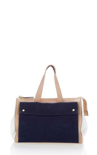 Macaroon and blue city handbag by MARNI Preorder Now on Moda Operandi