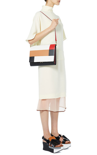 Cinder Rose And Brick File Pochette by Marni for Preorder on Moda Operandi