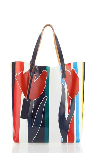Fosteriana pvc shopping bag by MARNI Preorder Now on Moda Operandi