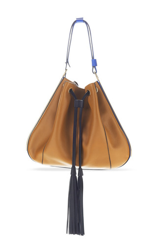 Medium tassle hobo bag by MARNI Preorder Now on Moda Operandi