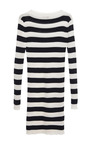 Navy And White Stripe Knit Dress by MSGM for Preorder on Moda Operandi