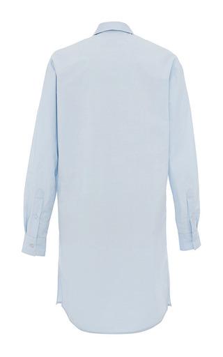 Pale Blue Shirt Dress by MSGM for Preorder on Moda Operandi
