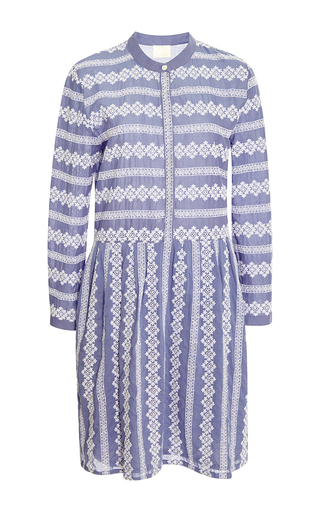 Embroidered cotton dress by BAND OF OUTSIDERS Now Available on Moda Operandi