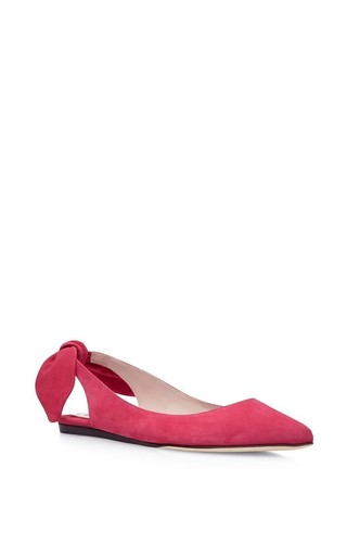Bow-detail flats by CARVEN Available Now on Moda Operandi