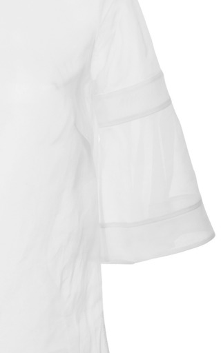 Antonio Berardi - Collarless Fluted Sleeve Top