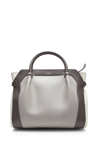 Mineral gris bag with handle by NINA RICCI Available Now on Moda Operandi