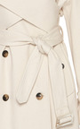 J.W. Anderson - J.W. Anderson Cotton Drill Trench Coat With Wrap Front