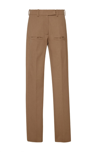 J.w. anderson wool drill welt pocket trousers by J.W. ANDERSON Preorder Now on Moda Operandi