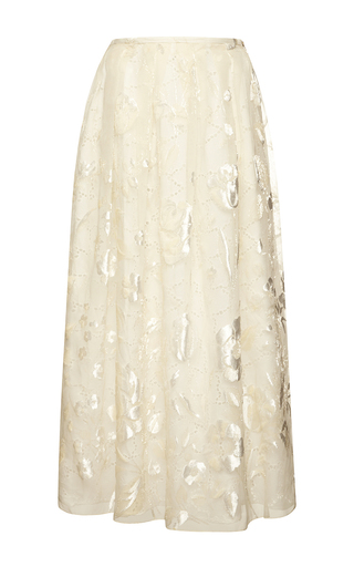 Sangallo lace skirt by ROCHAS Now Available on Moda Operandi