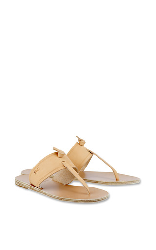 Melina Sandal In Natural by Ancient Greek Sandals for Preorder on Moda Operandi