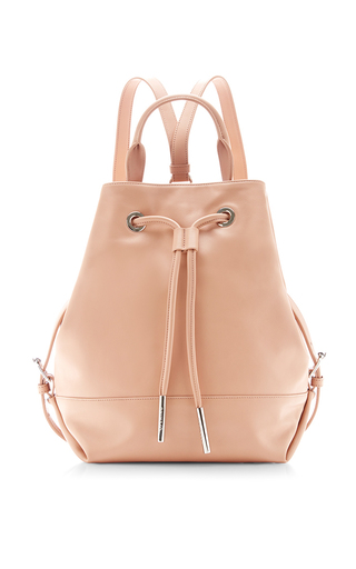 Izzy drawstring leather tote by OPENING CEREMONY Available Now on Moda Operandi