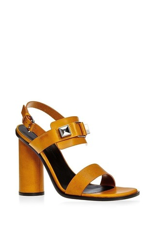 Ps1 round heel leather sandal by PROENZA SCHOULER Now Available on Moda Operandi