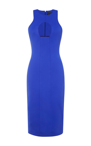 Cut-out neoprene dress by CUSHNIE ET OCHS Available Now on Moda Operandi