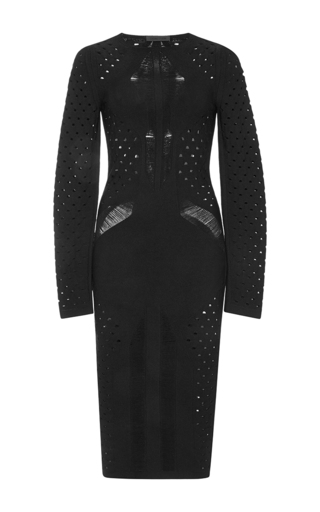 Cut-out knit jersey dress by CUSHNIE ET OCHS Now Available on Moda Operandi