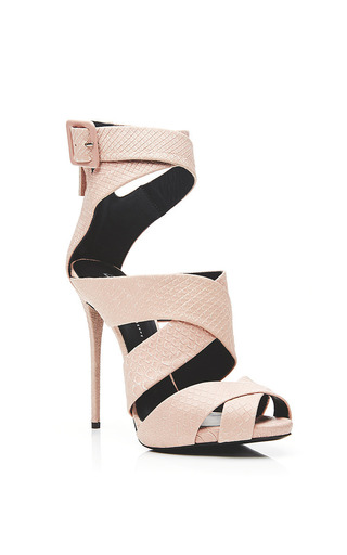 Coline ankle sandals by GIUSEPPE ZANOTTI Now Available on Moda Operandi