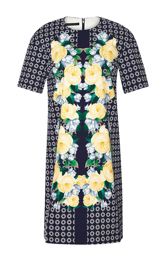 Beca printed cotton dress by MOTHER OF PEARL Available Now on Moda Operandi