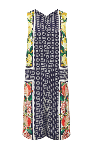 Kane printed silk jumpsuit by MOTHER OF PEARL Available Now on Moda Operandi
