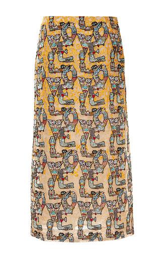 Mary Katrantzou - Lolita Embroidered Skirt