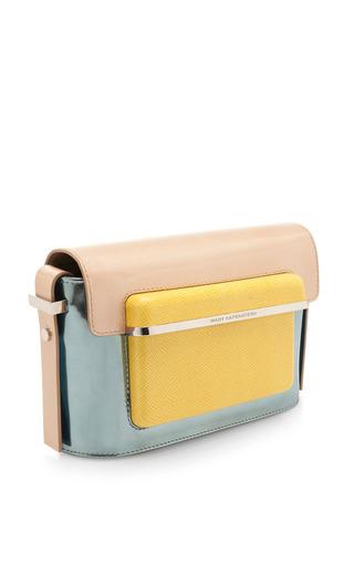 Mvk small handbag in lux blue multi by MARY KATRANTZOU Preorder Now on Moda Operandi