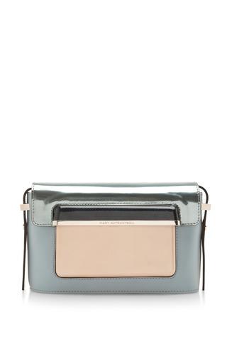 Mvk small handbag in powder blue multi by MARY KATRANTZOU Preorder Now on Moda Operandi