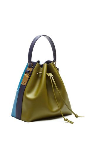 Large Drawstring Bucket Bag by SOPHIE HULME for Preorder on Moda Operandi