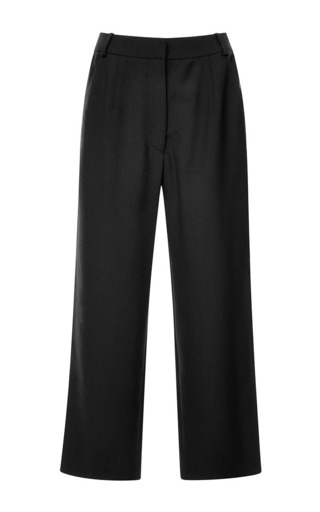 Pleated cropped pants by SUNO Now Available on Moda Operandi