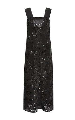 Embellished silk tank dress by SUNO Now Available on Moda Operandi