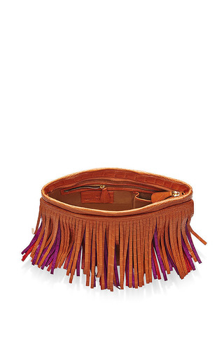 Nancy Gonzalez - Multi Three Belly Fringe Shoulder Bag