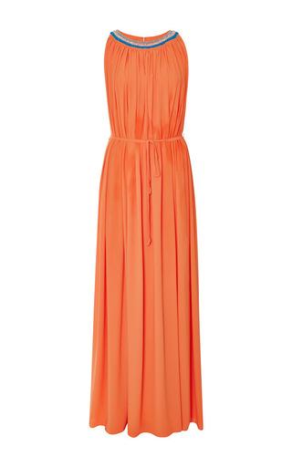 Gigi embellished silk-crepe maxi dress by SALONI Now Available on Moda Operandi